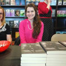 At the signing :)