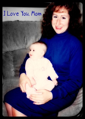 My mother and I in 1992.