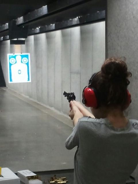 In other news: I took my practice conceal and carry. I got 100% :D I'm really excited and excited to share this experience with my family since we're all getting ours together.