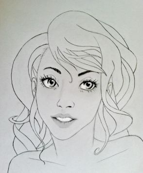 """Jessica Taylor"" drawn by Atheil Barker."
