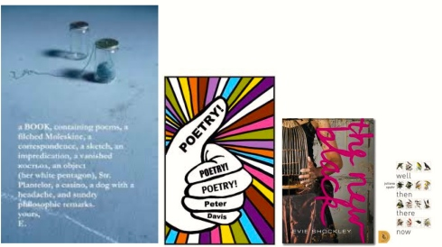 Poetry collections in order of like.