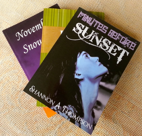 """November Snow"" ""Poets: a collection of twelve young Kansas poets"" & ""Minutes Before Sunset."" My publications that push me forward to continue chasing the dream."