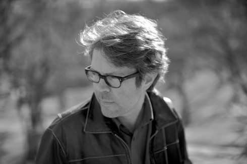 Writer Jonathan Franzen in his signature glasses. Photo by Greg Martin via npr.org