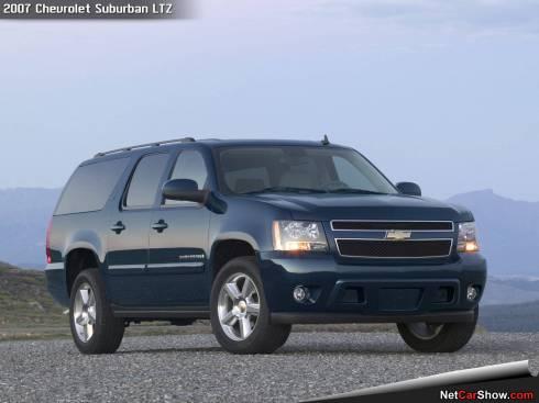 This is a 2007, Chevy Suburban LTZ