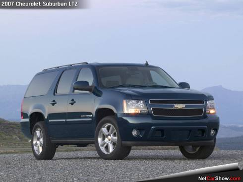 This is a 2007, Chevy Suburban LTZ