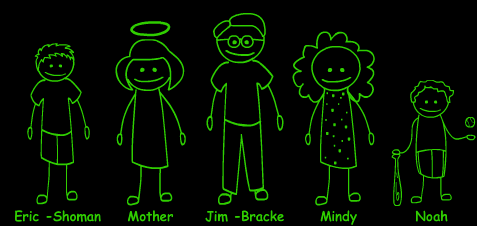 Eric Welborn's family