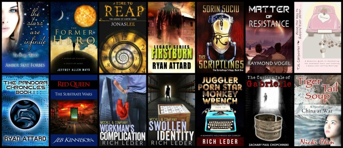 Most recent books I've worked with.