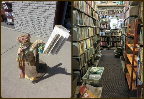 Let's start off with this bookstore I found recently - almost all books were donations.