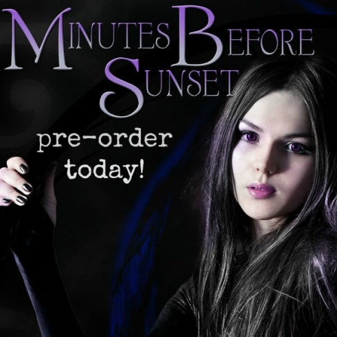 Minutes Before Sunset now up for pre-order!