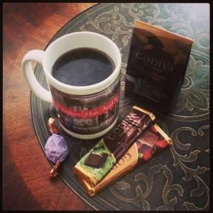 Coffee and chocolate helps limbo too!