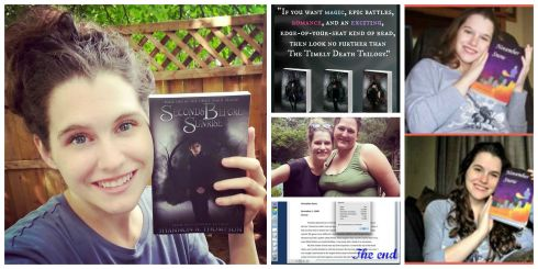 Some recent (and wonderful) moments I shared, include meeting a blogger, finishing a manuscript, my eight-year anniversary, a great review, and holding my book in my hands.