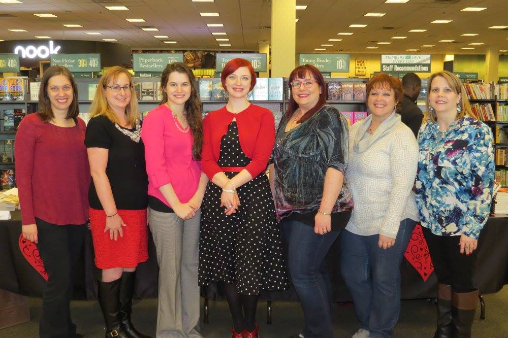 Another wonderful picture of the authors from the Barnes & Noble signing!