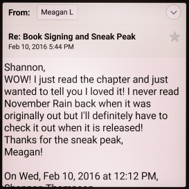 Special thanks goes out to The Book Forums for sending this awesome e-mail!