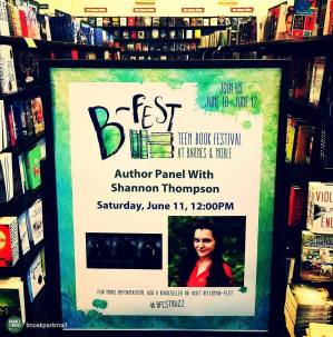 Photo from today's B-Fest book signing at Oak Park Mall!