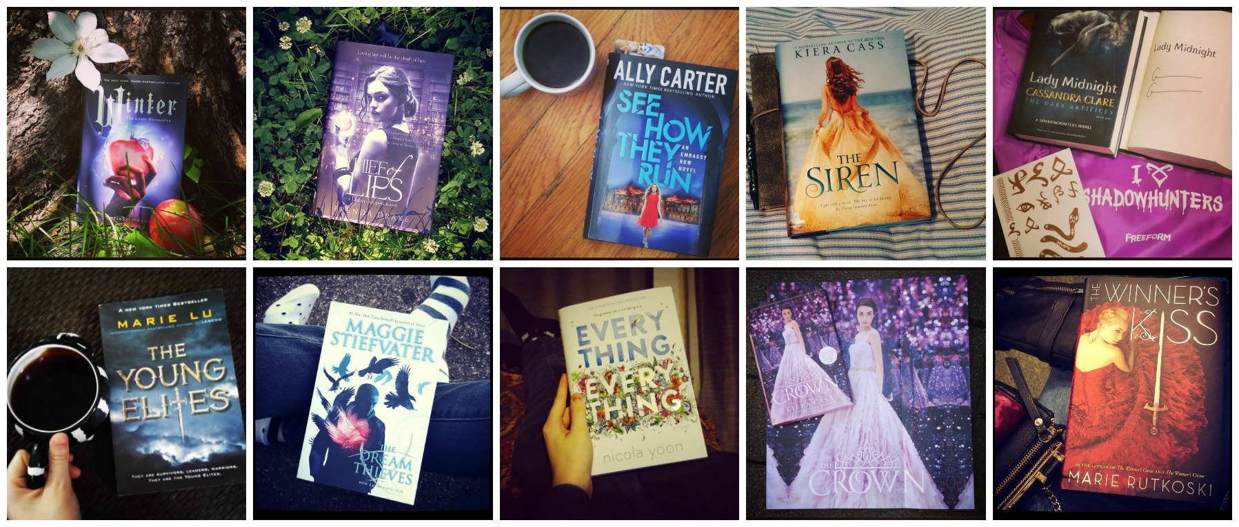 Books I've reviewed this summer that I totally recommend!