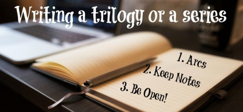 Writing Tips for a Trilogy or Series