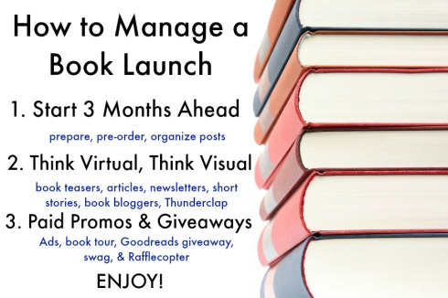 How to Manage a Book Launch