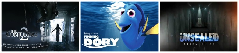 Finding Dory, Unsealed, Conjuring 2