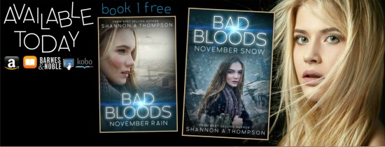 Bad Bloods Free Book: My #1 Clicked Item was Bad Bloods: November Snow
