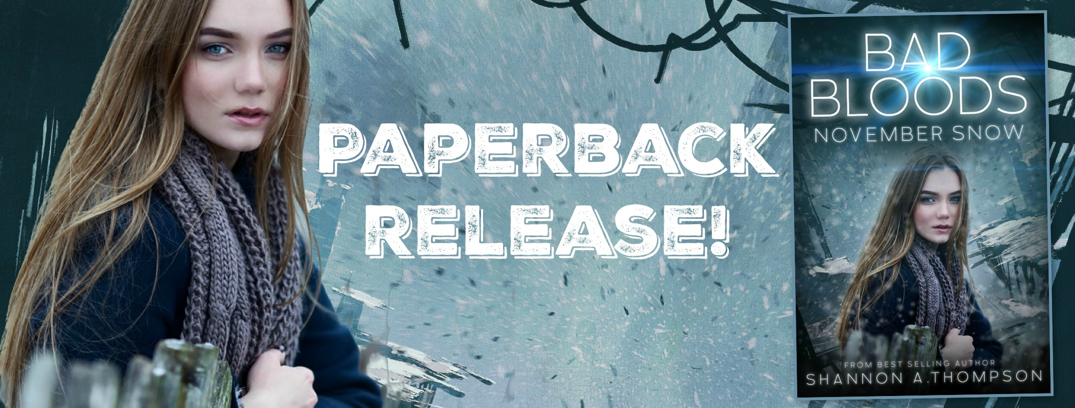 Bad Bloods: November Snow Paperback Release
